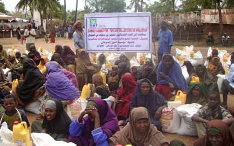 Somali Lepers Getting Aid