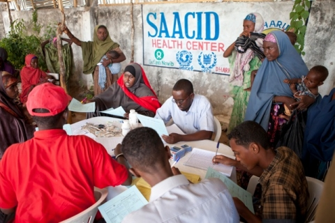 SAACID's Nutritional Feeding Program at IDP K7 Camp