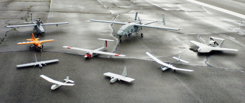 Small Unarmed Drones Used for Observation