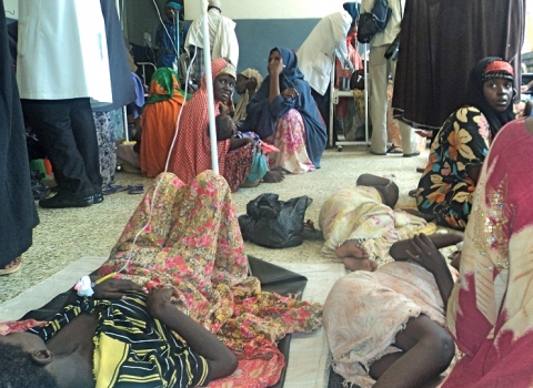 Overcrowded Benadir Hospital