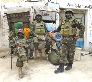 AMISOM Settling into Areas Deserted by Al-Shabaab