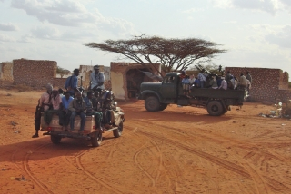 Ahlu Sunna forces, which control areas in central Somalia