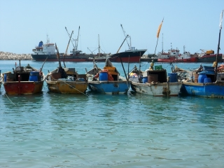 Fishing Boats in Puntland