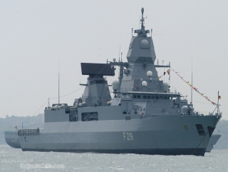 FGS Sachsen, part of EU NAVFOR's Operation Atalanta