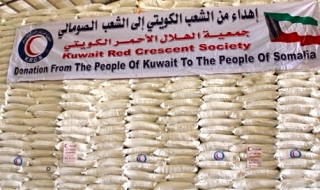 Aid from Kuwait (File Photo)