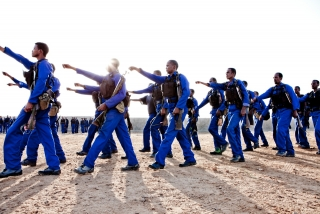 Puntland Marine Police Forces Train in Bosaso