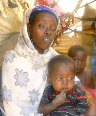 Refugee at Midnimo IDP