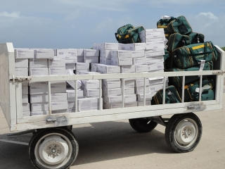 Relief Supplies from Kuwait