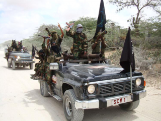 Shabaab militants moving near Kismayo