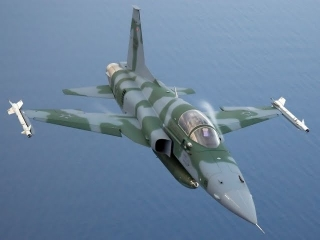 Kenyan F-5 fighter